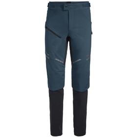 VAUDE Virt II Pantalones Softshell Hombre, steelblue